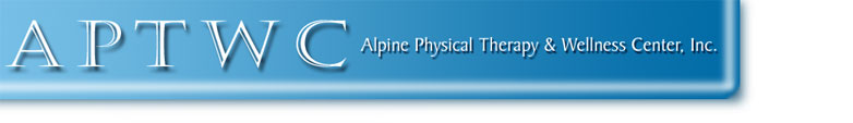 APTWC - Alpine Physical Therapy and Wellness Center, Inc.